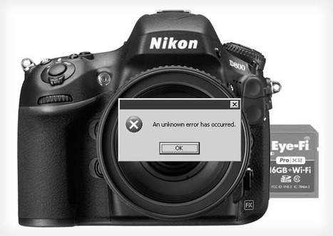 Nikon D800 Found to be Incompatible with Eye-Fi Cards for Wireless Transfers | Photography with the D800 | Scoop.it