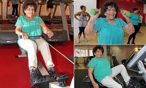 Is this Britain's oldest gym bunny? | Health and Fitness | Scoop.it