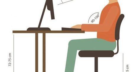 Cómo cuidar tu postura corporal si trabajas frente al ordenador | desdeelpasillo | Scoop.it