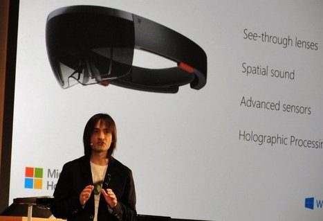 At Windows 10 Event, Microsoft Jumps Into Augmented Reality With HoloLens Headset | tech | Scoop.it