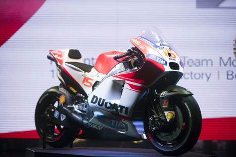 Ducati Desmosedici GP15 Unveiled | Ductalk Ducati News | Scoop.it