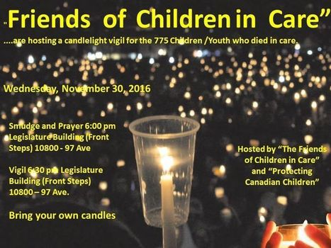 Candlelight Vigil in Edmonton for Serenity  | Family-Centred Care Practice | Scoop.it