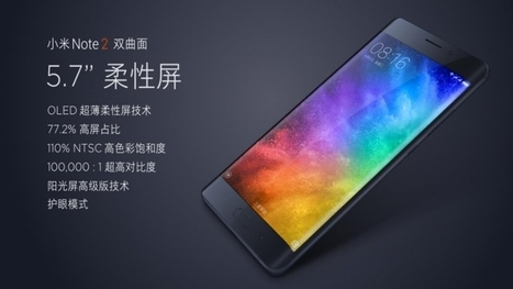 Xiaomi Mi Note 2 Official Launched - 3 Variants, 22.56MP Sony Exmor RS Camera, Final Price & more - Mobile Phone Prices | Coupons & Deals | Scoop.it