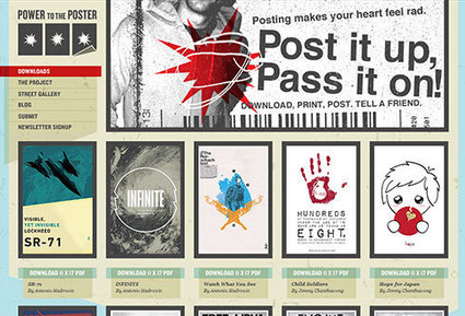Make Grunge Design Easy on The Eye | Basics and principles for a good  Web Design | Scoop.it
