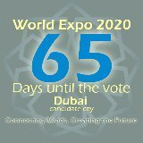 65 Days until the vote @DubaiExpo2020 ~Dubaicandidate city~ 'Connecting Minds, Creating the Future | Dubaï companies | Scoop.it