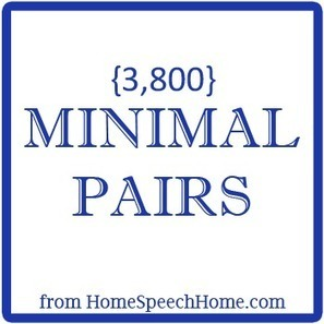 3800+ Minimal Pairs for Speech Therapy Practice | ESL Practice | Scoop.it