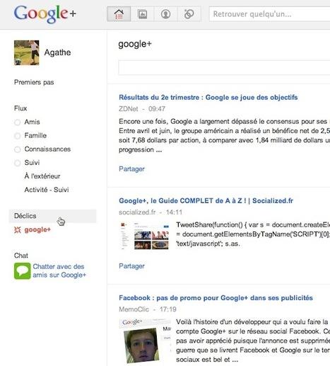 Google+ : gérez vos déclics - MemoClic | Adopter Google+ | Scoop.it