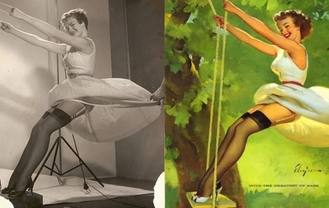 Pin-up girls before and after - Pin-up girls before and after shots | Fashion Technology Designers & Startups | Scoop.it