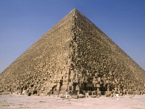 EN IMAGES. Pyramides : dans les entrailles de Kheops | Merveilles - Marvels | Scoop.it