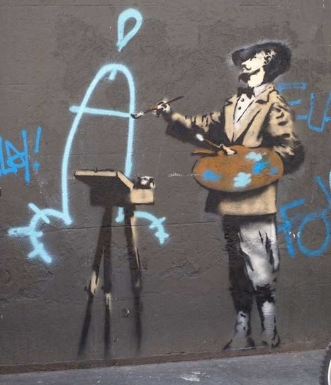 80+ Beautiful Street Crimes done by BANKSY | Criatividade | Scoop.it
