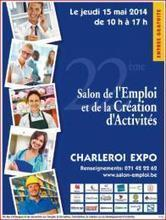 Emploi: Salon de l'emploi à Charleroi | B4C | Scoop.it