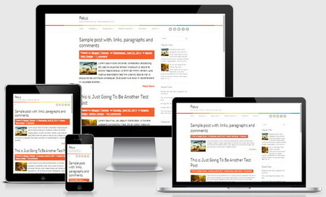 Patus Blogger Template | Blogger themes | Scoop.it