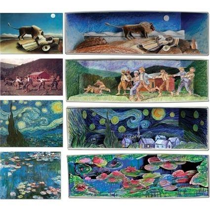 Les productions en arts visuels : faisons le point   Arts et FLE   Scoop.it