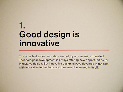 The Ten Principles For Good Design | Design Superstars | A design journey | Scoop.it