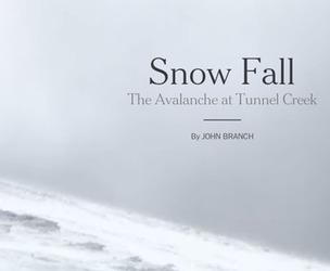 'Snow Fall' Isn't the Future of Journalism - The Atlantic | Multimedia Journalism | Scoop.it