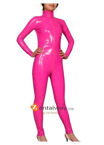 Pink PVC Catsuit [b046] - $43.00 : zentaiway.com | Sexy PVC Catsuits | Scoop.it