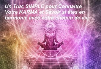 Le truc SIMPLE pour connaître votre Karma et être sûr d'aller dans la bonne | La loi de l'attraction | Scoop.it