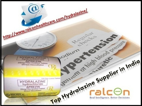 Hydralazine is the medical term for high blood pressure   Healthcare   Scoop.it