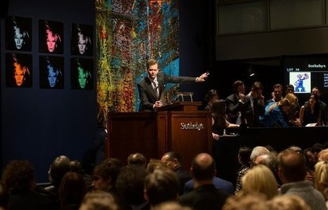 Sotheby's & Christie's Dominate Art Market With Record Volume | Fine Art News | Scoop.it