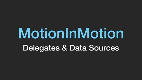 The RubyMotion Screencast - MotionInMotion | RubyMotion | Scoop.it