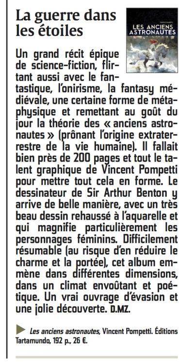 Chronique dans Le Courrier Picard   Bande dessinée et illustrations   Scoop.it