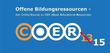 Neuauflage: MOOC zu Open Educational Resources geht in die zweite Runde | e-learning in higher education and beyond | Scoop.it