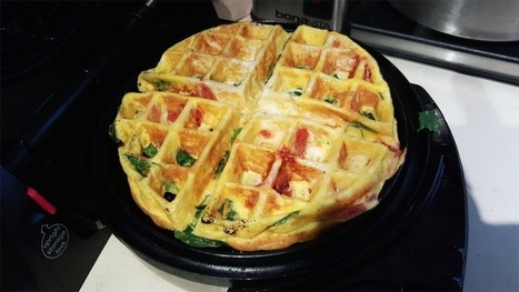Make Fluffy, Quick Frittatas in a Waffle Iron   Bazaar   Scoop.it