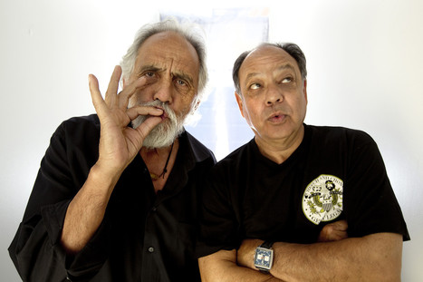 Comedy stoners Cheech & Chong working on new movie - Los Angeles Times | Machinimania | Scoop.it