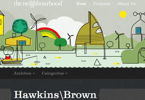 Big Busy Bold Website Designs Inspire | Design Revolution | Scoop.it