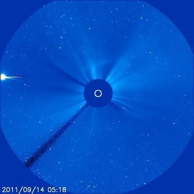Scienzaltro - Astronomia, Cielo, Spazio: L'ultimo tuffo della cometa | Planets, Stars, rockets and Space | Scoop.it