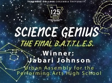 Rapping About Science: Watch High School Senior Jabari Johnson ... | Science Education | Scoop.it