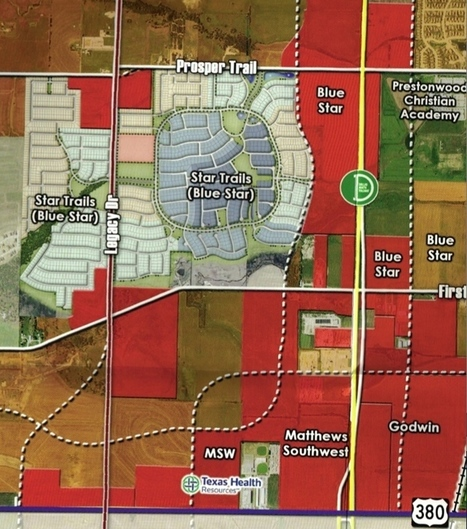 Jerry Jones' Blue Star Land is ready to start 1,800-home community in Prosper | North Texas Real Estate | Scoop.it