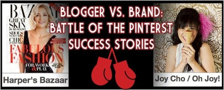 Blogger vs. Brand – Battle of the Pinterest Success Stories | Business 2 Community | Pinterest | Scoop.it
