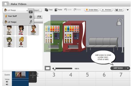 Go Animate: mi primer video animado producido en línea desde Youtube - Rebeca Zuñiga | Visual Thinking 101 | Scoop.it