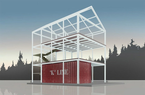 Coates Design Architects' Eco-Pak Container homes | The Architecture of the City | Scoop.it