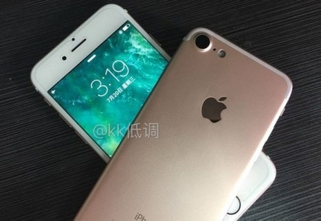 L'iPhone 7 commercialisé le 23 septembre ? | Belgium-iPhone | Geeks | Scoop.it