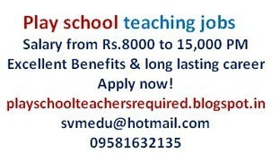 Play school teaching jobs in India   Performance Based SEO Services   Scoop.it