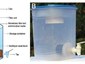 New portable water filter uses nanoparticles to remove biological and heavy metal pollutants | Great Ideas | Scoop.it