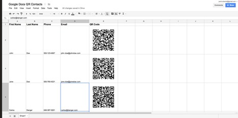 This is How to Generate QR Codes from Google Docs | Time to Learn | Scoop.it