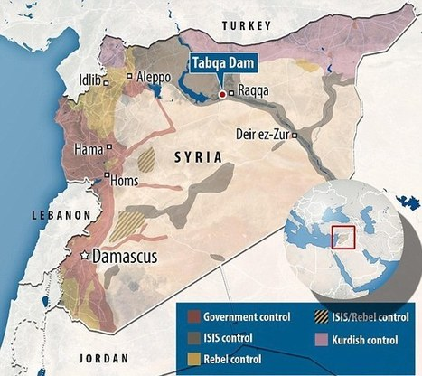 Bomb us if you dare: ISIS militants holed up in Syria's largest dam | Conformable Contacts | Scoop.it