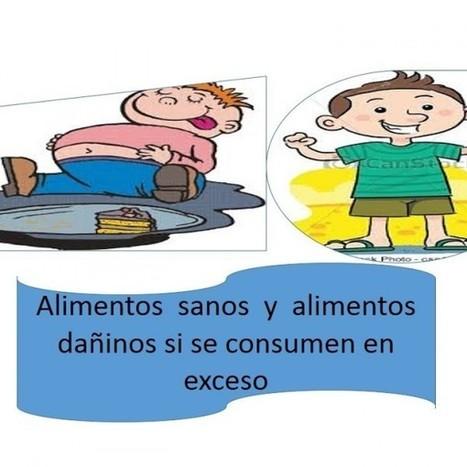 """ALIMENTOS QUE EN EXCESO DAÑAN Y ALIMENTOS NUTRITIVOS   Online Slideshow by Slide.ly   Portafolio """"Modelos didácticos basados en las TIC""""   Scoop.it"""