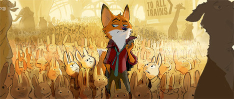 Brand New 2016 Disney Animation Movie 'Zootopia' Unveiled at ... | Machinimania | Scoop.it