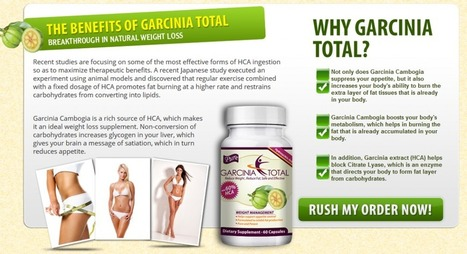 Garcinia Total Review – Get Free Trial (Available) | Weight Loss Pills For Losing Weight Effectively | Scoop.it