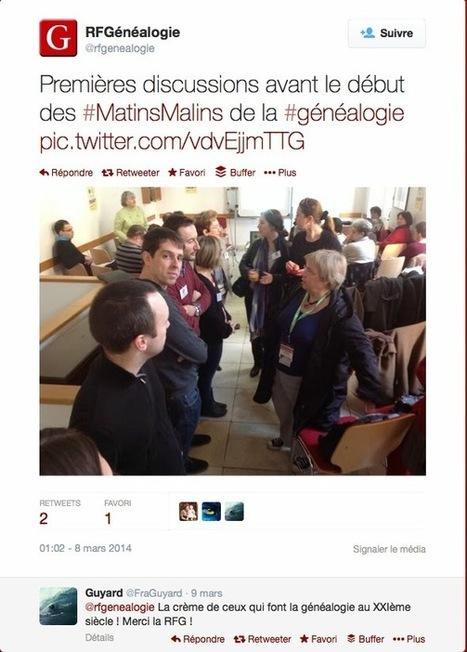 GeneaTech: Les Matins Malins reviennent sur l'évènement RootsTech | Nos Racines | Scoop.it