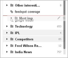 Feedpot: Introducing Drag-and-Drop support for your Feeds, Folders and Tags   RSS Circus : veille stratégique, intelligence économique, curation, publication, Web 2.0   Scoop.it