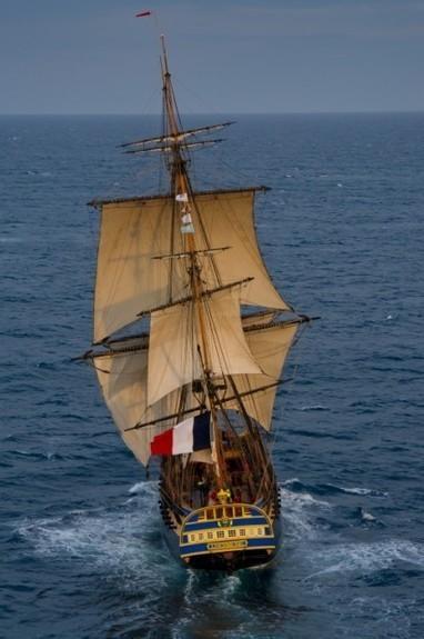 Fregata Hermione, missione compiuta e l'avventura continua | Nautica-epoca | Scoop.it