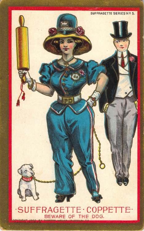 Joan Iversen's Women's Suffrage Postcard Collection | In Memory of ... | Women's Rights in America | Scoop.it