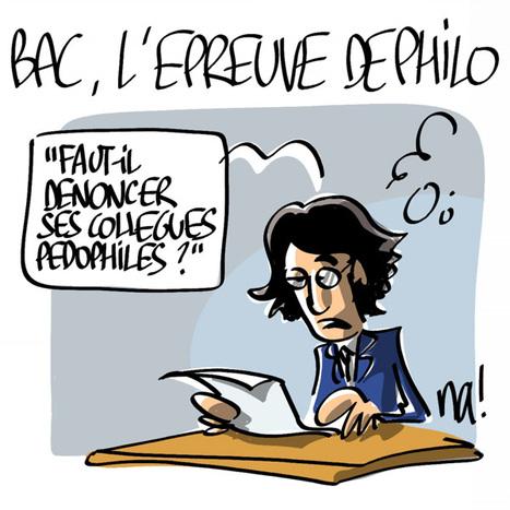 Bac, l'épreuve de philo | Baie d'humour | Scoop.it