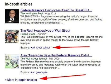 RICH CONTENT - Google Expands In-Depth Articles | Real SEO | Scoop.it