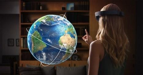 Microsoft Hololens : une première mise à jour pleine de nouveautés - GoGlasses | Santé Industrie Pharmaceutique | Scoop.it